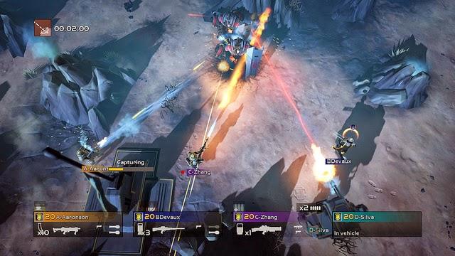 Helldivers PS4, PS3, and PS Vita