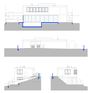 Arquitectura minimalista casa l arquitecto schneider for Casa minimalista vidriada