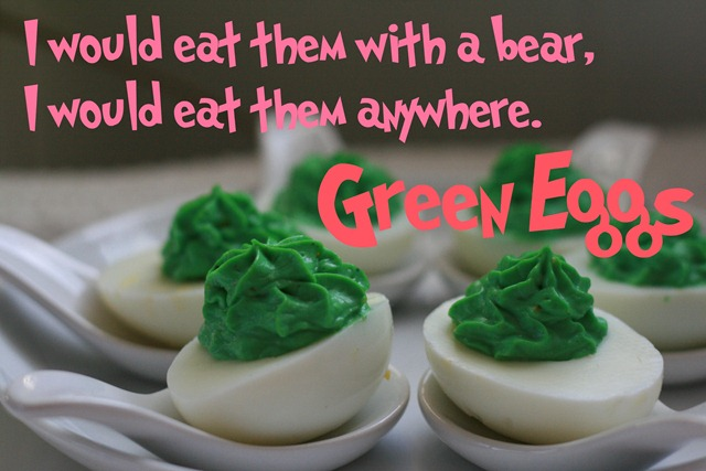 Green Seuss Eggs