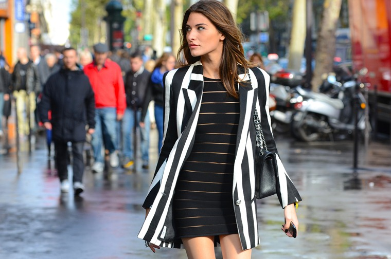 NobodyKnowsMarc.com Gianluca Senese Paris Fashion week street style balmain