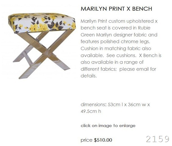 adron bench price