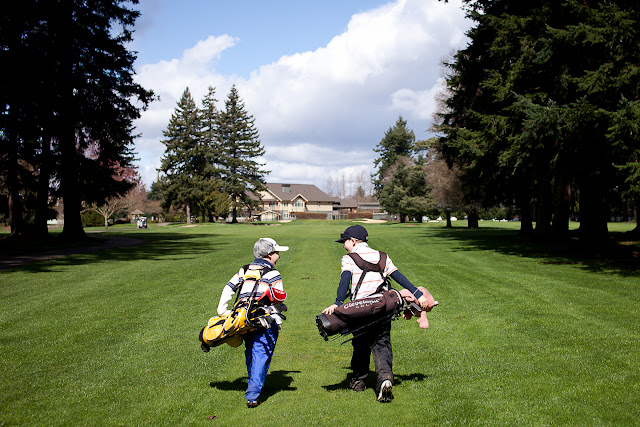 March/April 2012 - 3rd Place/ Two boys and one love for golf./ Credit: Matt Medcalf