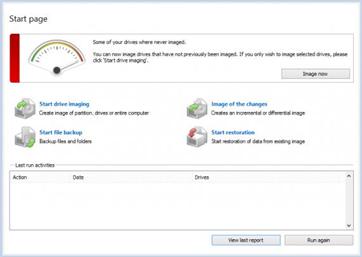 Windows 8 Disk Image Backup and Restore Software