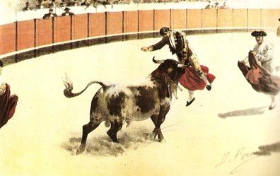 Cogida de Reverte en Caceres (La Lidia 03-07-1899) 001