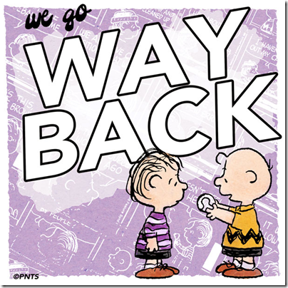 Charlie Brown X Linus - we go way back by Peanuts