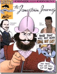 Chester Comix, the Jamestown Journey