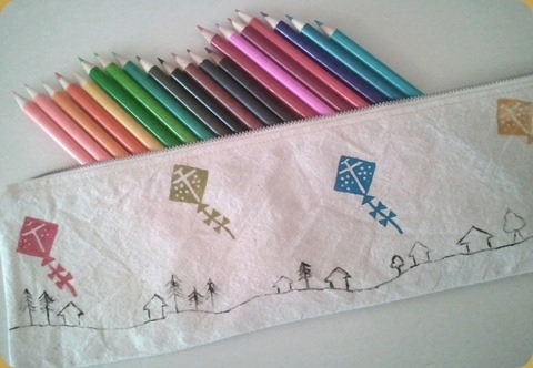 Up and Away Pencil Case 2