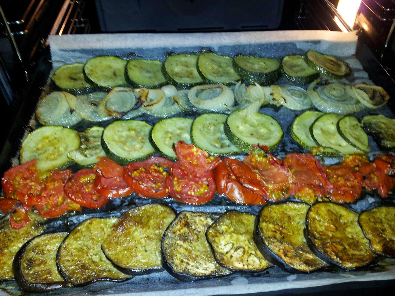 Pulgarcita s cooking parrillada de verduras al horno - Cocinar verduras al horno ...