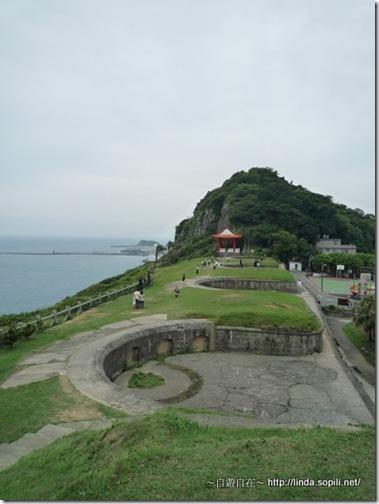 白米甕砲台-俯瞰
