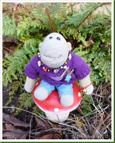 Sitting on a toadstool