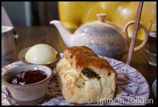 Gluten free scones Pantry 108 Marylebone Hotel