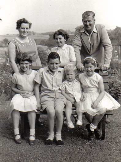 cropped family 1958