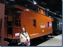 1896 Pennsylvania - Strasburg, PA - Railroad Museum of Pennsylvania - Karen & H&BT No. 16 caboose