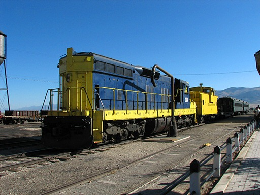 SD-9 Northern Nevada RR