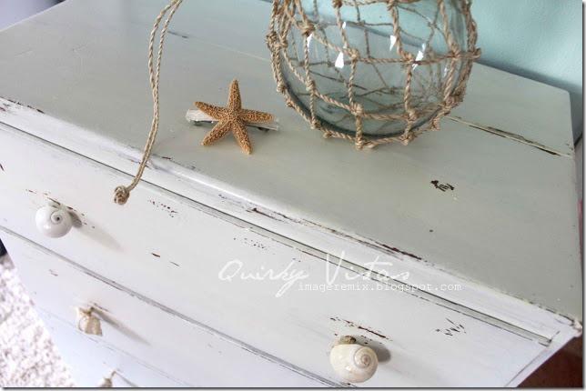 top of shell knob dresser