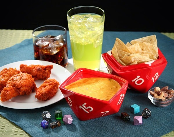 D20 Bowls from ThinkGeek