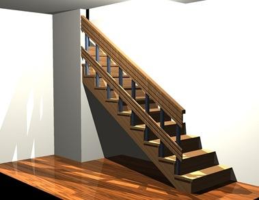 Muebles y maderas muebles bajo escalera for Muebles de madera para debajo de la escalera