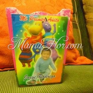 Caja de trupan para Fiesta Infantiles