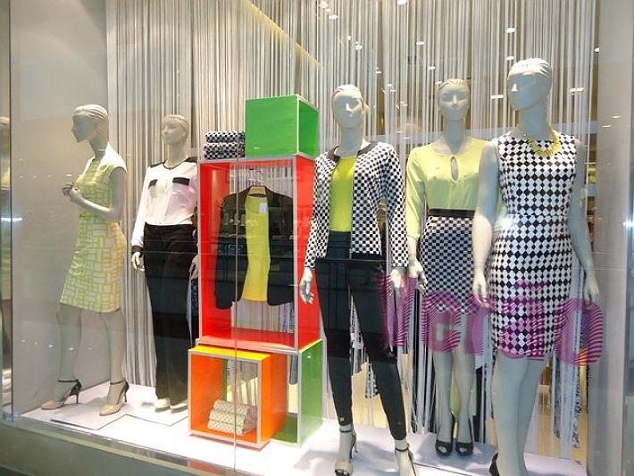 vitrine loja gregory shopping curitiba verao 2014