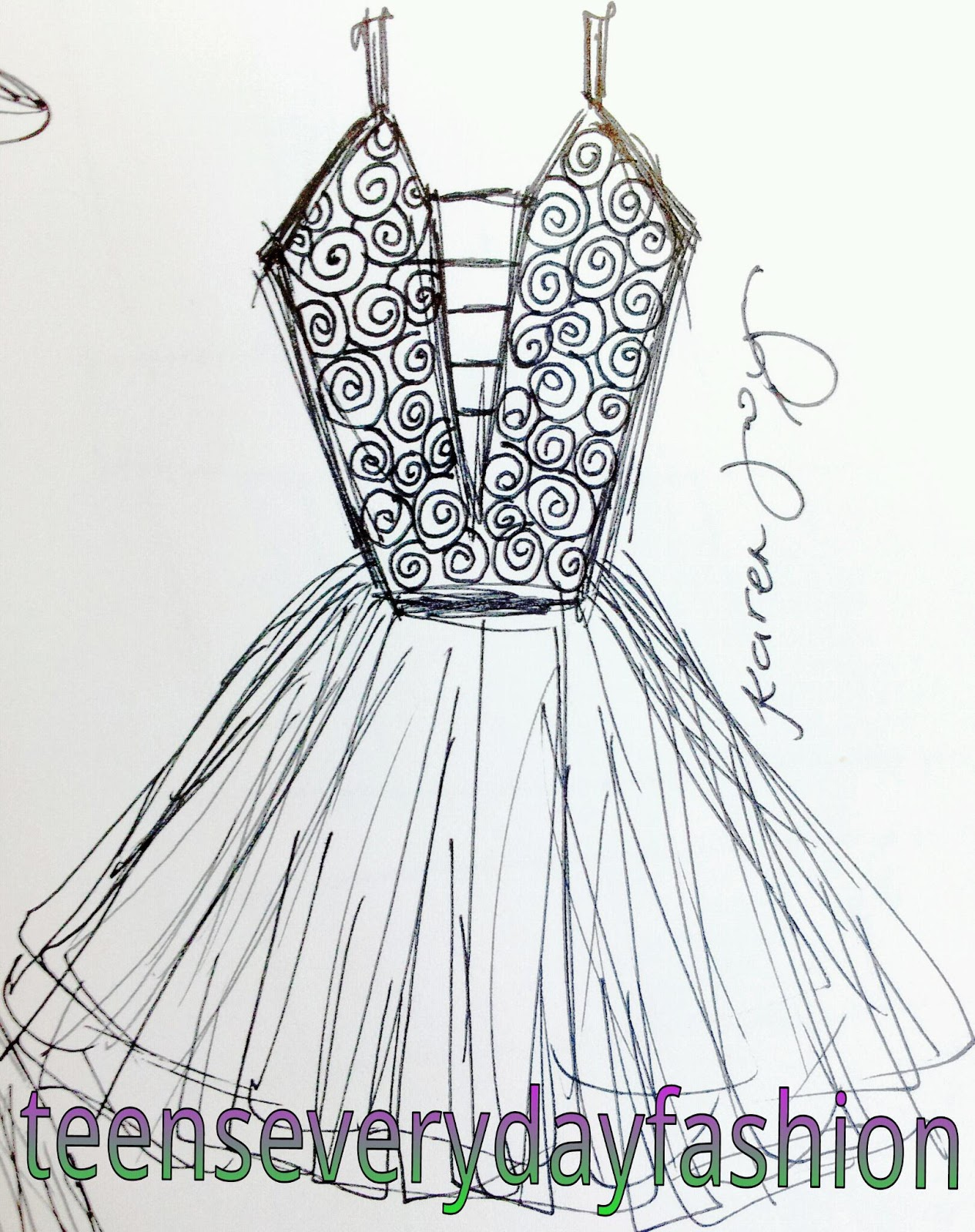 How To Draw Dresses Step By Fashion Apps Directories