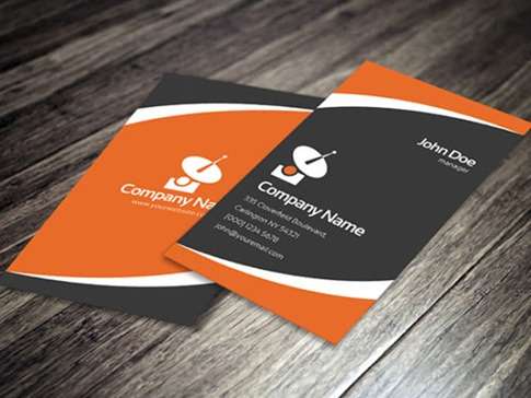 Corporate Business Card Template3