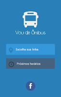 Screenshot of Vou de Ônibus