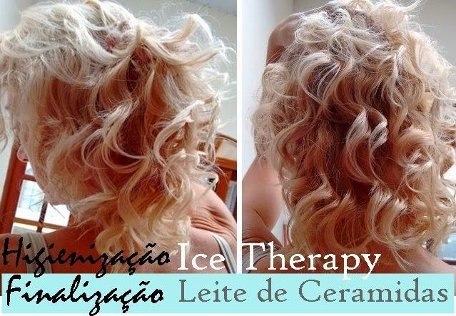 resultado linha Ice Therapy + Leite de ceramidas