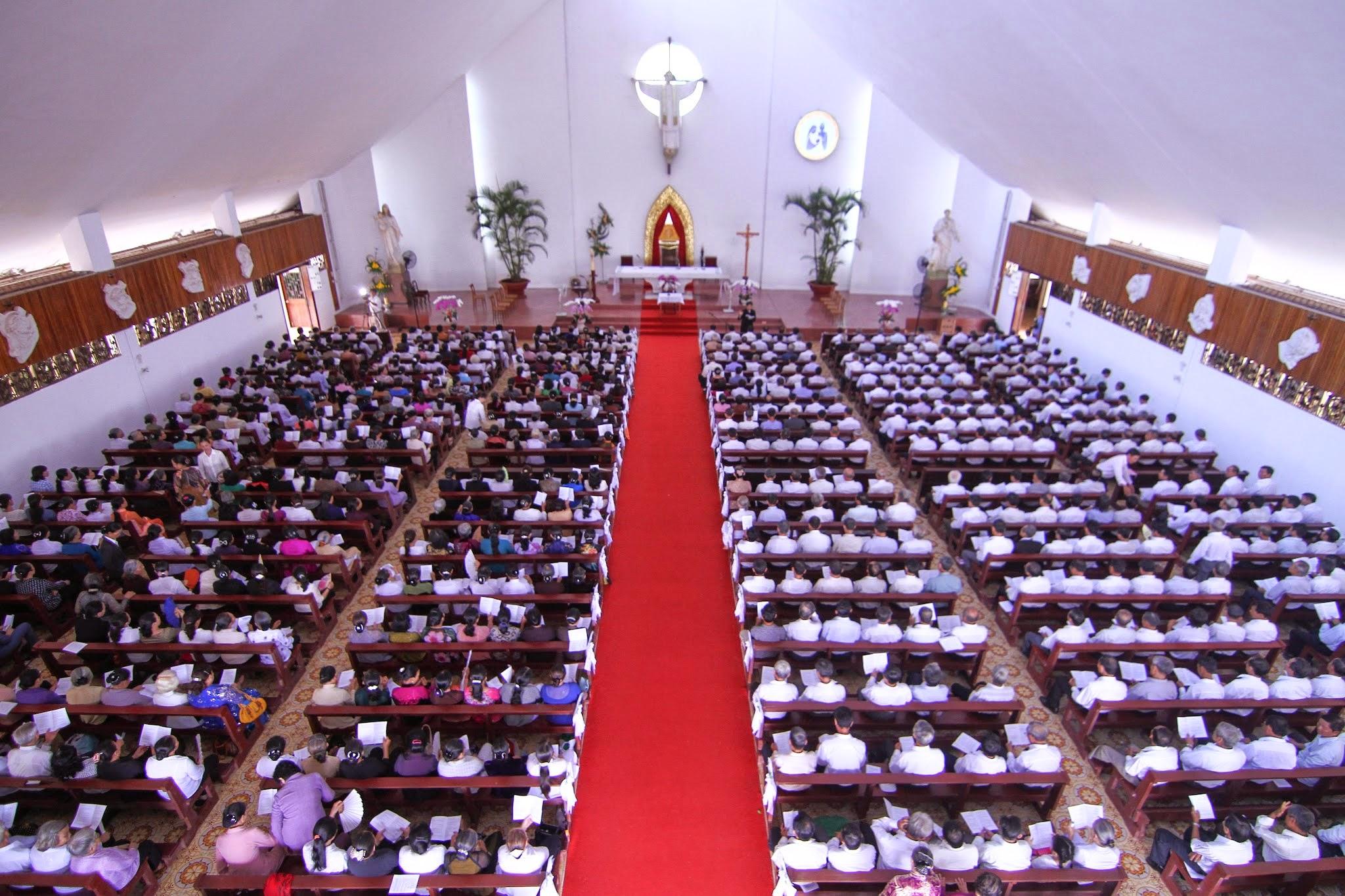 Lễ Chúa Chiên Lành 2014 – Ngày họp mặt quý Ông Bà Cố quý Linh mục và Tu sĩ giáo phận Bà Rịa