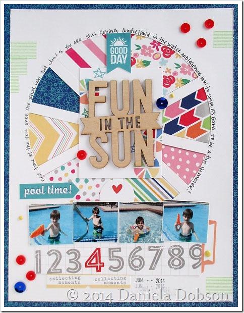 Fun in the sun by Daniela Dobson