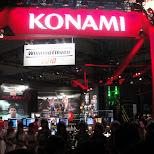 konami at the tokyo game show 2009 in japan in Tokyo, Tokyo, Japan