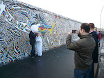 Everybody wanted in on the action, Berlin Wall