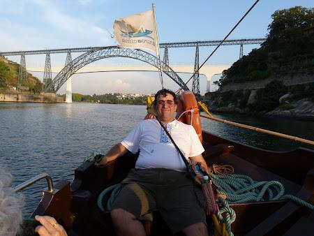 Obiective turistice Porto: croaziera Douro