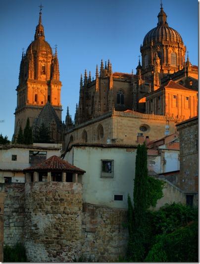 Salamanca y huerto de La Celestina.