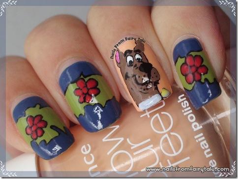 scooby doo nail art 5