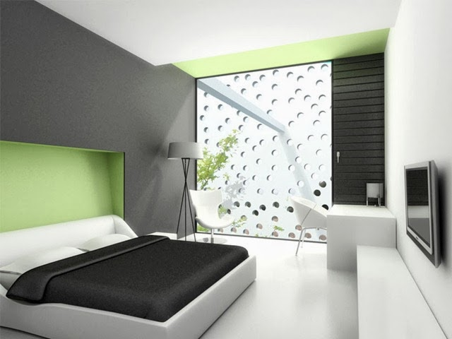 warna cat tembok kamar tidur minimalis