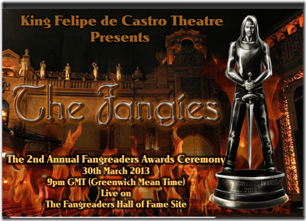 Fangies Ceremony Theatre Banner