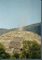 piramide feixe captado camara