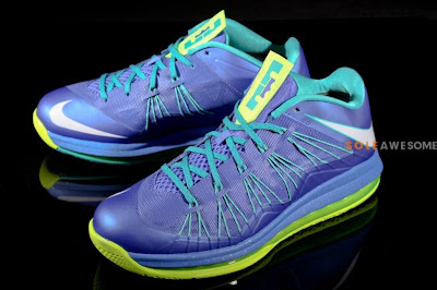 nike lebron 10 low gr blue green 1 01 First Look at Nike Air Max LeBron X Low Summit Lake Hornets