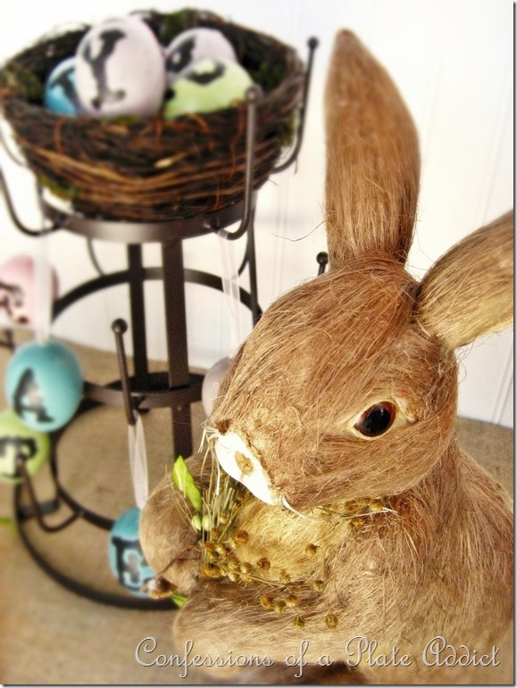 CONFESSIONS OF A PLATE ADDICT Easter Bunny