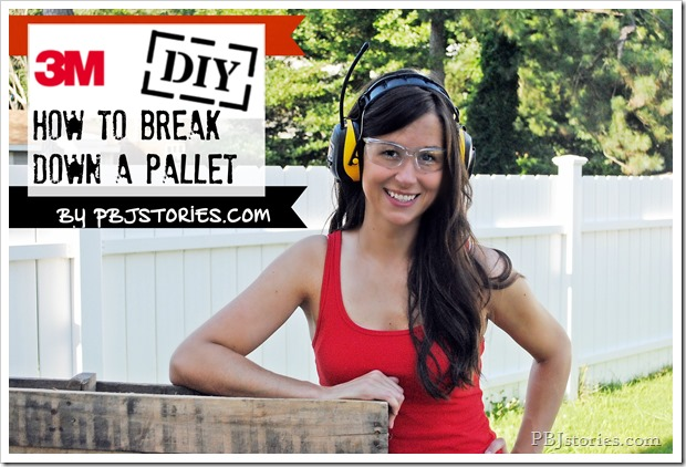 PBJstories.com how to break down a pallet