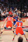 lebron james nba 130217 all star houston 30 game 2013 NBA All Star: LeBron Sets 3 pointer Mark, but West Wins