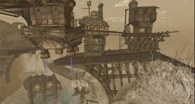 Oblivion  Steampunk sim 001