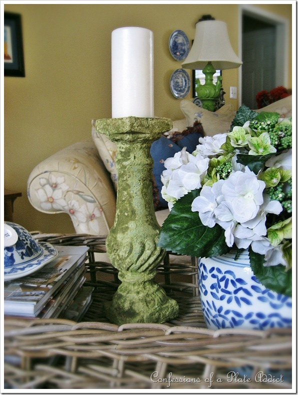 Mossy Candlestick
