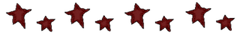 red stars divider