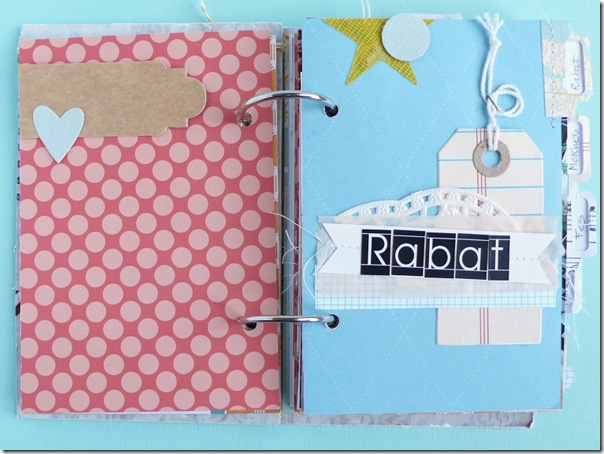 cafe creativo - Anna Drai - big shot sizzix - mini album - travel journal (4)