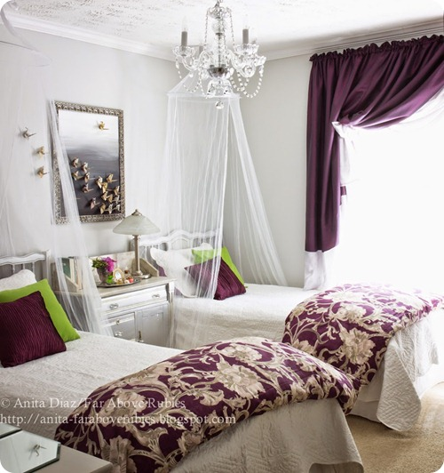 sophisticated girls' room