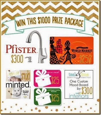 Win this Giveaway with 1000$ in prizes from Setting for Four