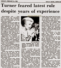 1982-02-16_Daily News - Turner feared latest role despite years of experience