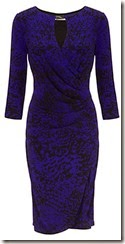 Gina Bacconi Amethyst Jersey Dress