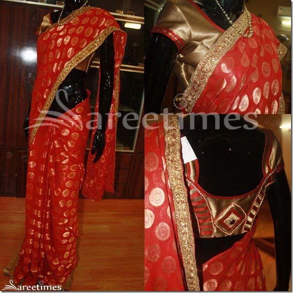Red_Light_Weght_Saree